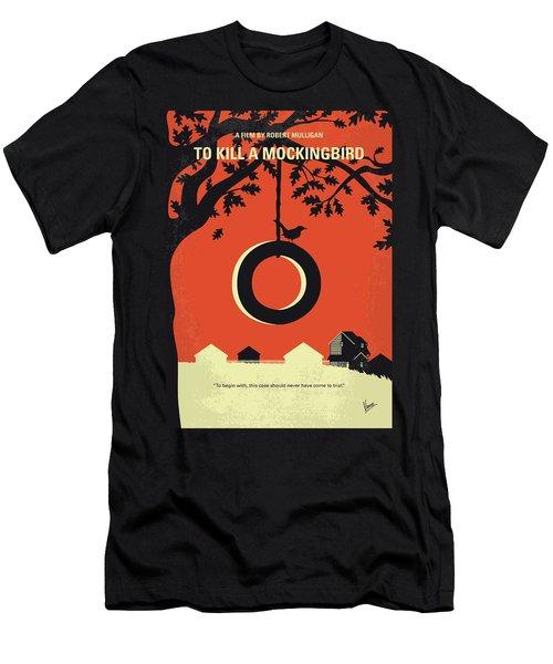 No844 My To Kill A Mockingbird Minimal Movie Poster Men's T-Shirt (Athletic Fit)