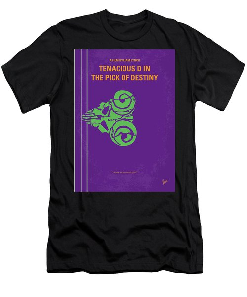 No863 My The Pick Of Destiny Minimal Movie Poster Men's T-Shirt (Athletic Fit)