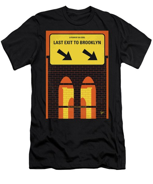 No879 My Last Exit To Brooklyn Minimal Movie Poster Men's T-Shirt (Athletic Fit)