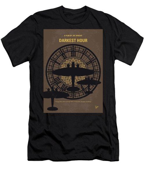 No901 My Darkest Hour Minimal Movie Poster Men's T-Shirt (Athletic Fit)