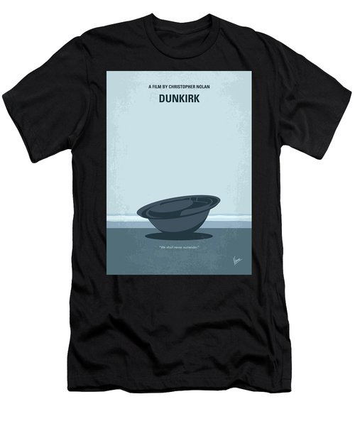 No905 My Dunkirk Minimal Movie Poster Men's T-Shirt (Athletic Fit)