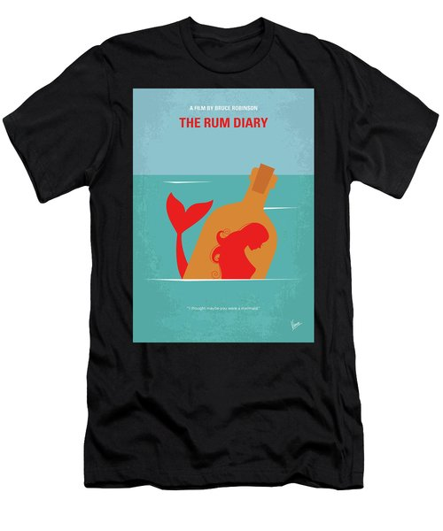 No925 My The Rum Diary Minimal Movie Poster Men's T-Shirt (Athletic Fit)