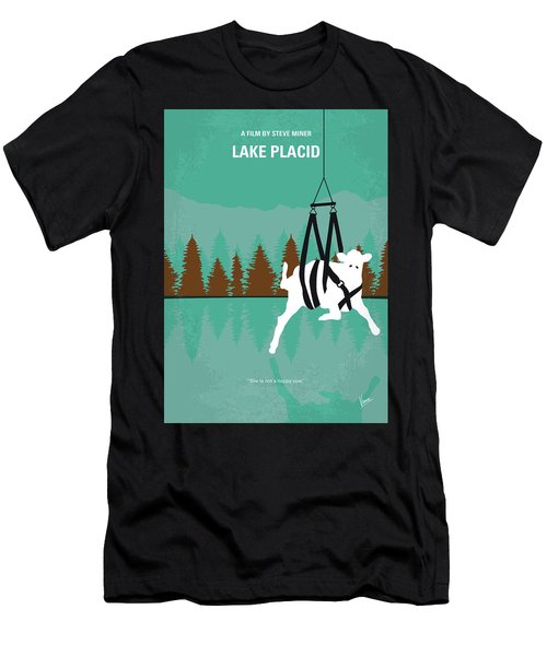 No944 My Lake Placid Minimal Movie Poster Men's T-Shirt (Athletic Fit)
