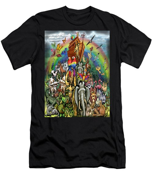 Noah's Ark Men's T-Shirt (Athletic Fit)