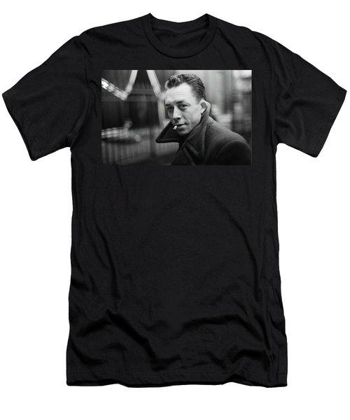 Nobel Prize Winning Writer Albert Camus Paris 1944 - 2015           Men's T-Shirt (Athletic Fit)