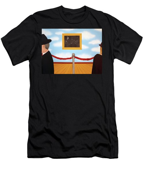 Nobody Noticed Men's T-Shirt (Slim Fit) by Thomas Blood