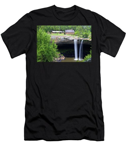 Noccolula Falls Gadsden Alabama Men's T-Shirt (Athletic Fit)
