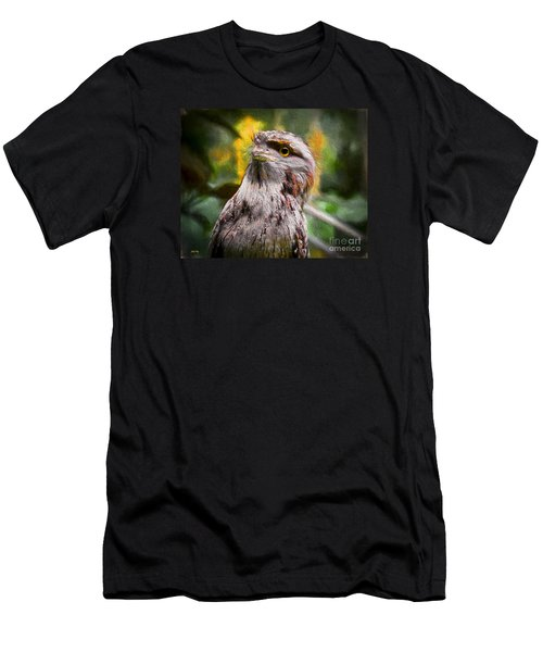 Men's T-Shirt (Slim Fit) featuring the painting Nocturnal Beauty by Judy Kay