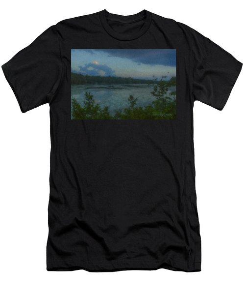 Nocturne At Ames Long Pond Men's T-Shirt (Athletic Fit)