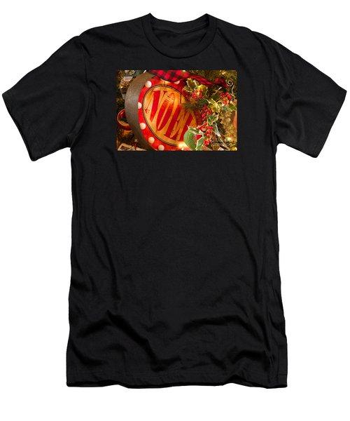 Noel Sign Men's T-Shirt (Athletic Fit)