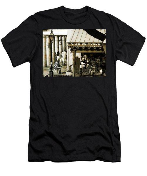 Nola Jazz Man Men's T-Shirt (Athletic Fit)