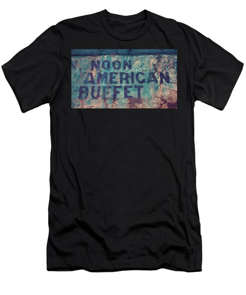 Noon American Buffet Men's T-Shirt (Athletic Fit)
