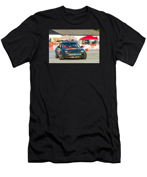 Men's T-Shirt (Athletic Fit) featuring the photograph Nopi Drift 1 by Michael Sussman