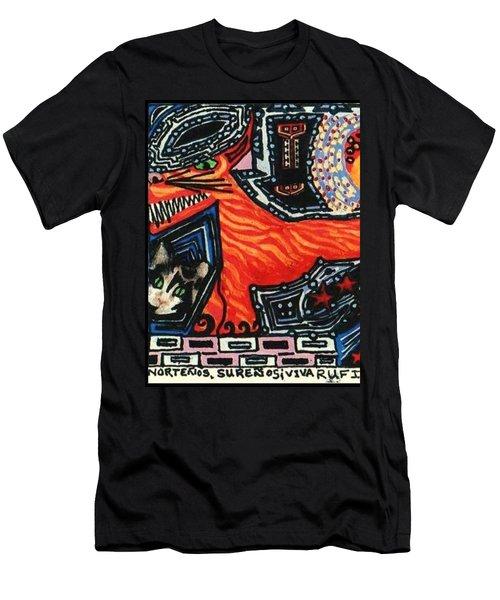 Nortenos Surenos Viva Rufino Tamayo Simon Men's T-Shirt (Athletic Fit)