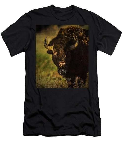 North American Buffalo Men's T-Shirt (Athletic Fit)