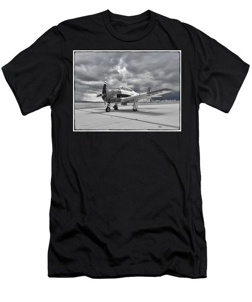 North American T-28 Men's T-Shirt (Athletic Fit)