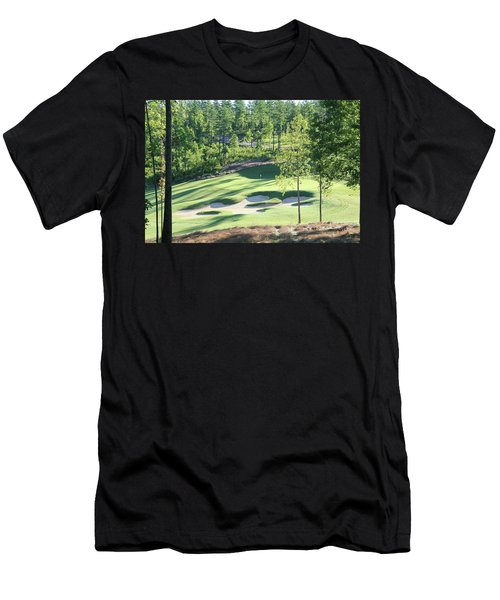 North Carolina Golf Course 12th Hole Men's T-Shirt (Athletic Fit)