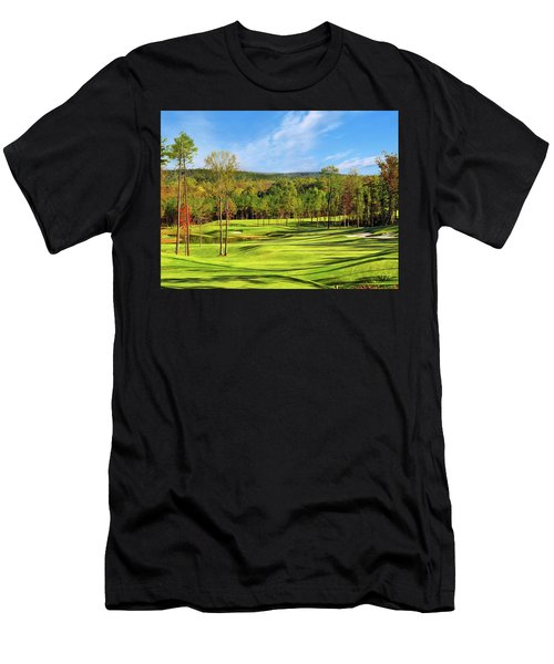 North Carolina Golf Course 14th Hole Men's T-Shirt (Athletic Fit)