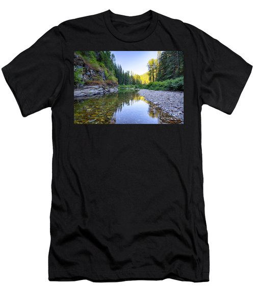 North Fork Evening Men's T-Shirt (Athletic Fit)
