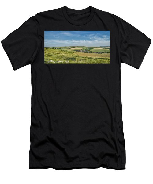 North French Scenery Men's T-Shirt (Athletic Fit)