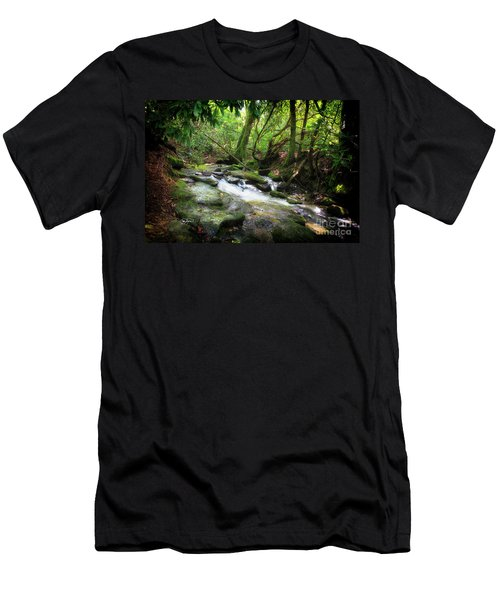 North Georgia Mountains  Men's T-Shirt (Athletic Fit)