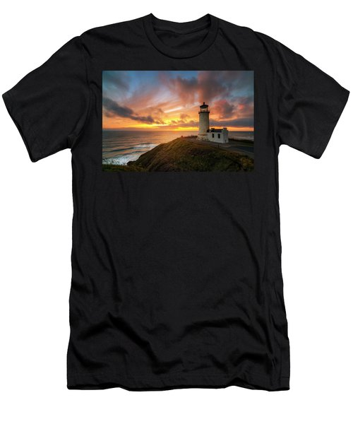 Men's T-Shirt (Slim Fit) featuring the photograph North Head Dreaming by Ryan Manuel