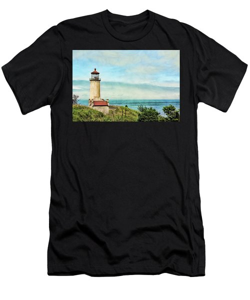 North Head Lighthouse Men's T-Shirt (Athletic Fit)
