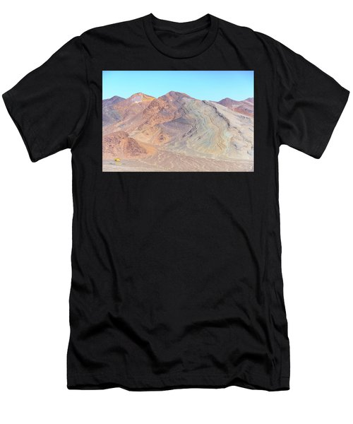 Men's T-Shirt (Athletic Fit) featuring the photograph North Of Avawatz Mountain by Jim Thompson