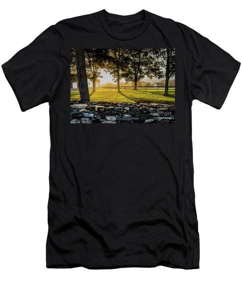 North Road Fog Men's T-Shirt (Athletic Fit)
