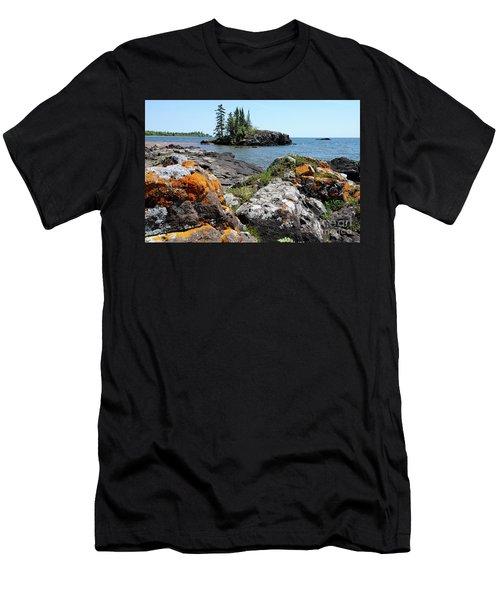 North Shore Beauty Men's T-Shirt (Athletic Fit)