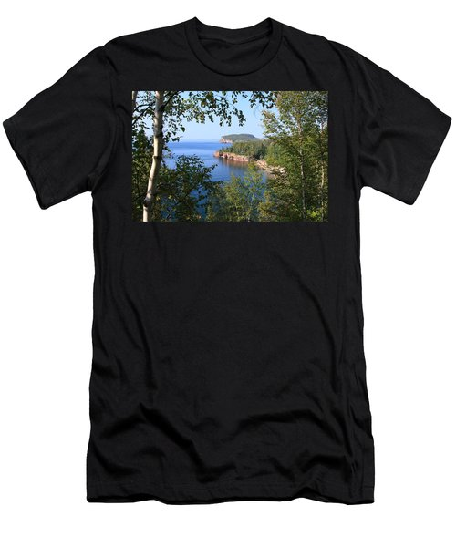 North Shore Lake Superior Men's T-Shirt (Athletic Fit)