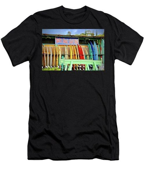 North Shore Surf Shop 1 Men's T-Shirt (Athletic Fit)