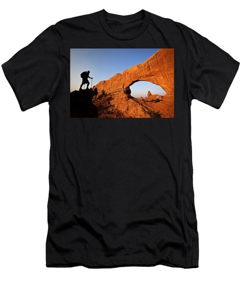 North Window Arch Men's T-Shirt (Athletic Fit)