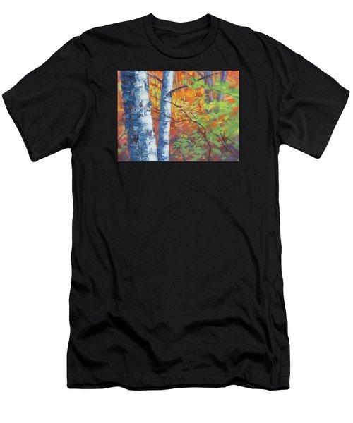 North Woods Birch Men's T-Shirt (Athletic Fit)