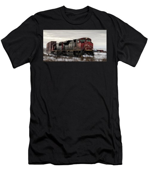 Northbound Double Stack Men's T-Shirt (Athletic Fit)