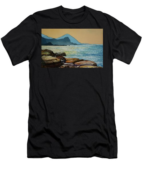 Northeast Coast Of Taiwan Men's T-Shirt (Athletic Fit)