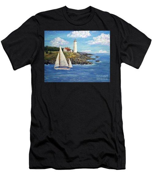 Northeast Coast Men's T-Shirt (Athletic Fit)