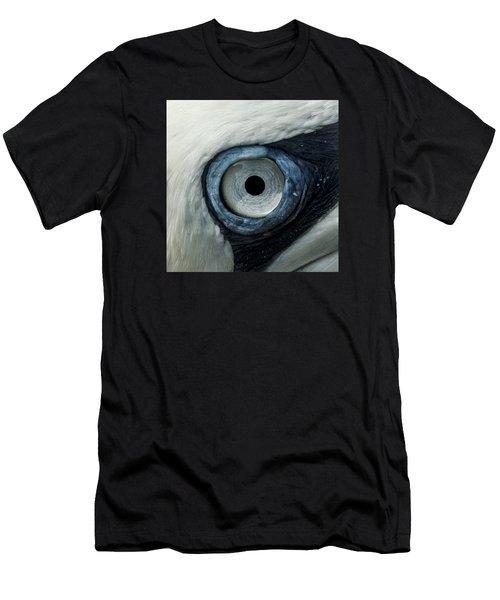 Northern Gannet Eye Men's T-Shirt (Athletic Fit)
