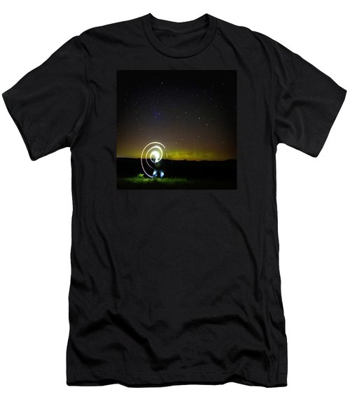 023 - Night Writing Men's T-Shirt (Athletic Fit)