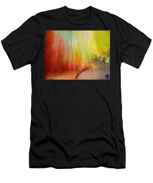 Northern Lights # 1 Men's T-Shirt (Athletic Fit)