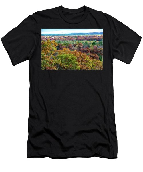 Northern Michigan Fall Men's T-Shirt (Athletic Fit)