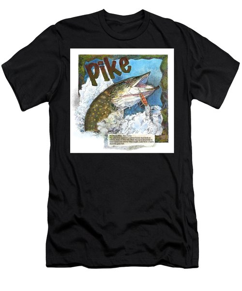 Northerrn Pike Men's T-Shirt (Athletic Fit)