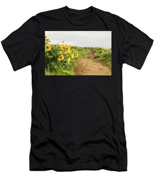 Northwest Balsamroot On Mosier Plateau Men's T-Shirt (Athletic Fit)