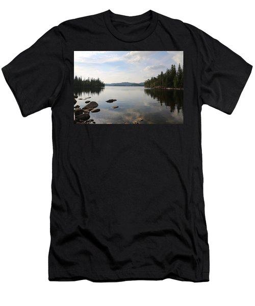 Norwegian Landscape  Men's T-Shirt (Athletic Fit)