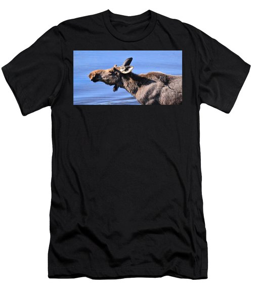 Nose First - Moose Men's T-Shirt (Athletic Fit)