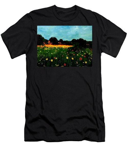 Not Another Bluebonnet Painting Men's T-Shirt (Athletic Fit)