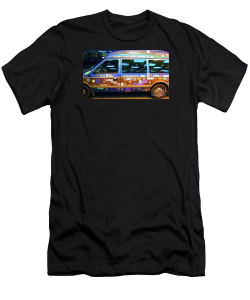 Men's T-Shirt (Slim Fit) featuring the photograph Grateful Dead - Not Fade Away by Susan Carella