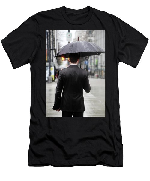 Men's T-Shirt (Slim Fit) featuring the photograph Not Me  by Empty Wall