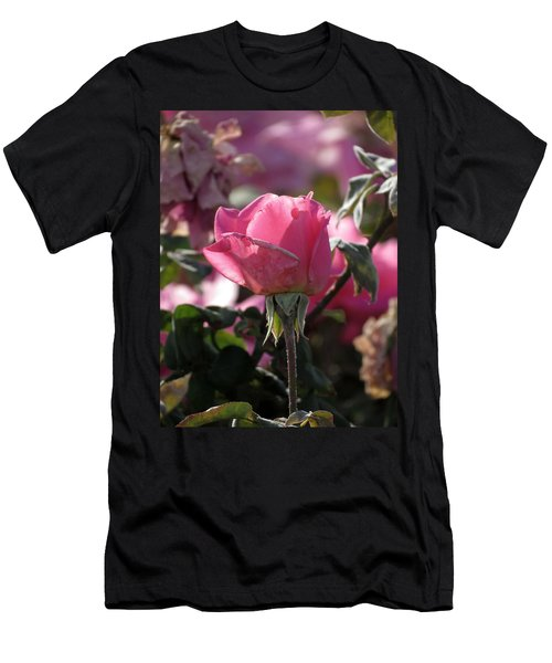 Men's T-Shirt (Slim Fit) featuring the photograph Not Perfect But Special by Laurel Powell