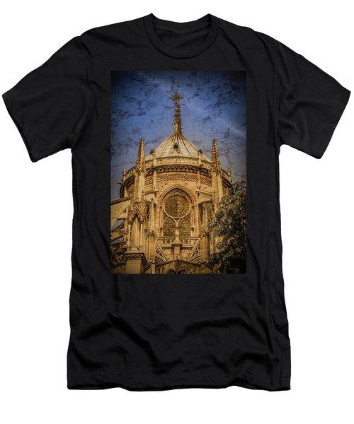 Paris, France - Notre-dame De Paris - Apse Men's T-Shirt (Athletic Fit)